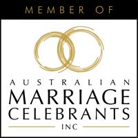 Member of Australian Marriage Celebrants INC